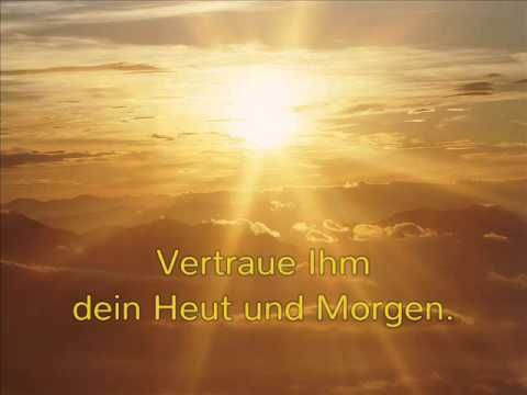 Vertrauen in Gott - YouTube