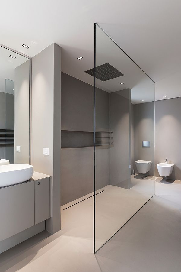 The House Will Have A Large And Modern Bathroom Mit Bildern