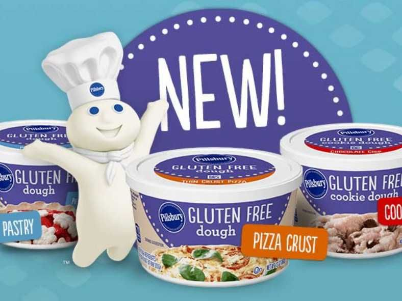 Pillsbury releases glutenfree pizza and cookie dough