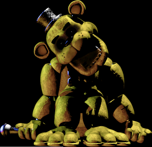 Golden Freddy | Fnaf golden freddy, Five nights at freddy's, Fnaf