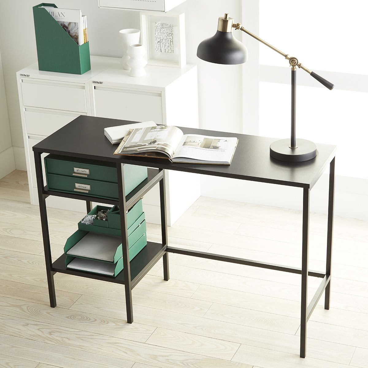 The Perfect Work Desk Is An Organized Desk Find One That S