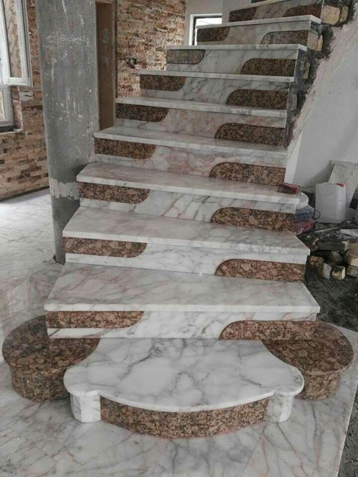 Awesome Granite Staircase Designs in 2020   Staircase ...
