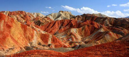 Unique scenery of Danxia landform in Gansu - Lifestyle News - SINA English