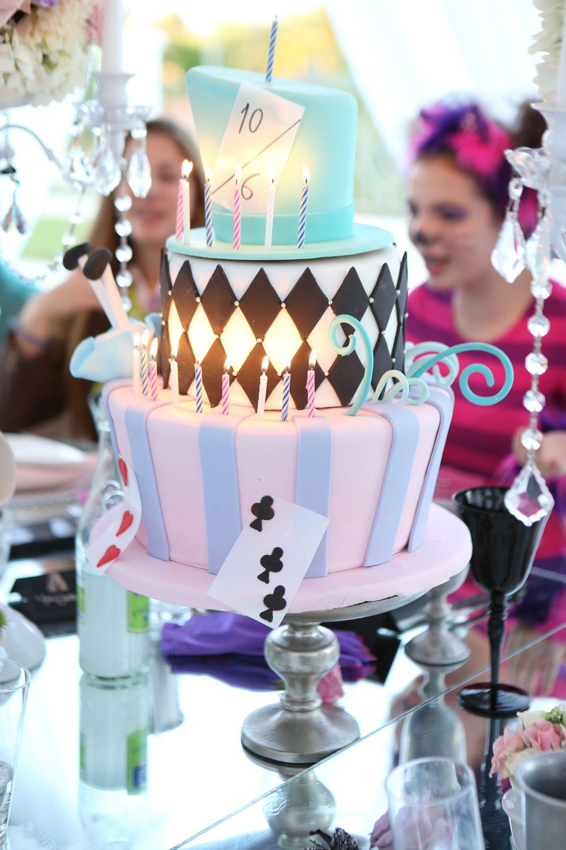 Alice in Wonderland Themed Sweet 16 Cielu0027s