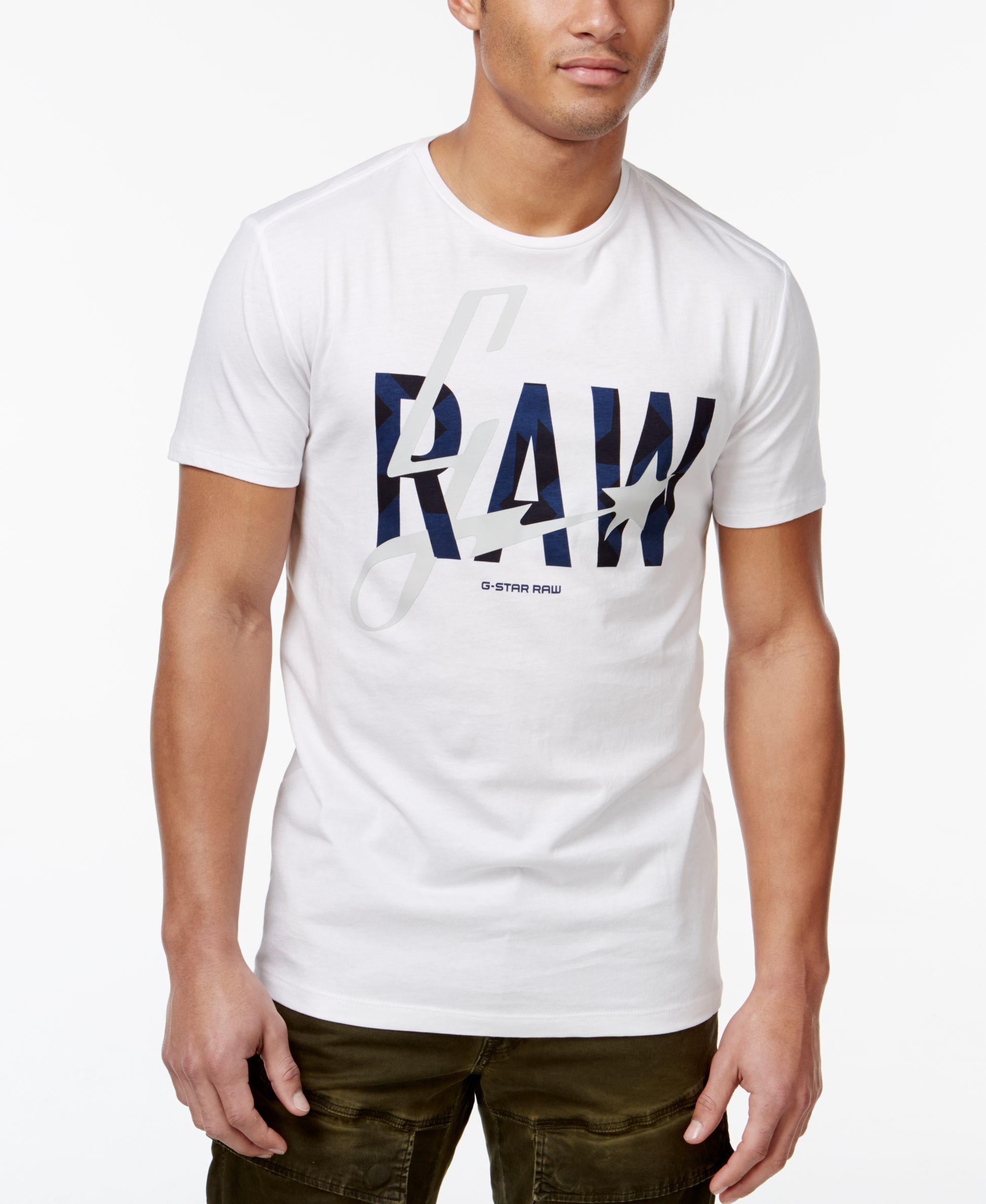 49459ccf6b G-Star Raw Logo T-Shirt | RAW ⚡ | Shirts, T shirt, Man logo