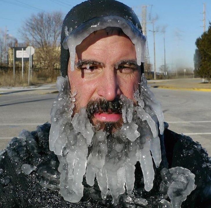 23 People dealing with extreme weather conditions
