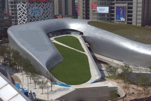 Zaha Hadid's Dongdaemun Design Plaza Opens In Seoul, South Korea, Futuristic Architecture