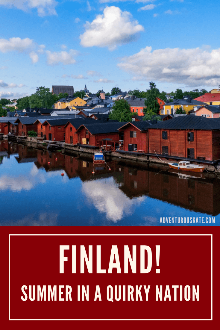 Finland in the Summer: Quirky, Isolated, and Pretty | Adventurous Kate