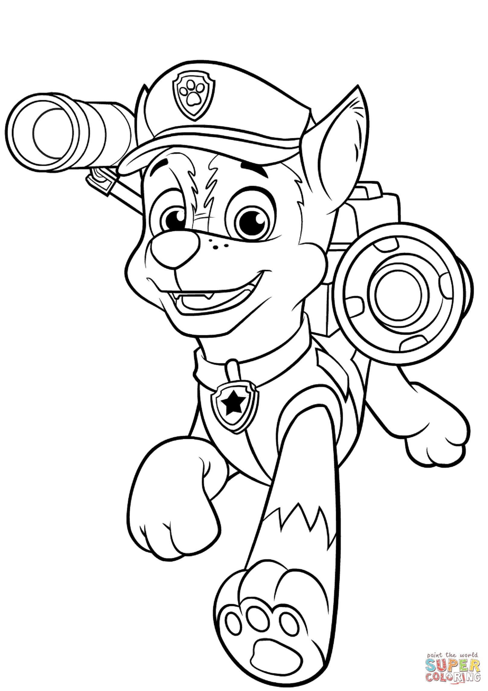 Pin by Maria Rodriguez on Disney Paw patrol coloring