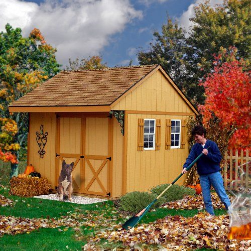 Best Barns Northwood 10' X 10' Wood Shed Kit, 2015 Amazon Top Rated Storage Sheds #Lawn&Patio