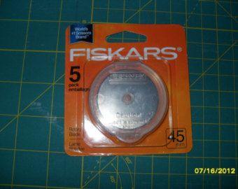 10 pack 60mm Rotary Blades for OLFA / Fiskars / by TheThackery