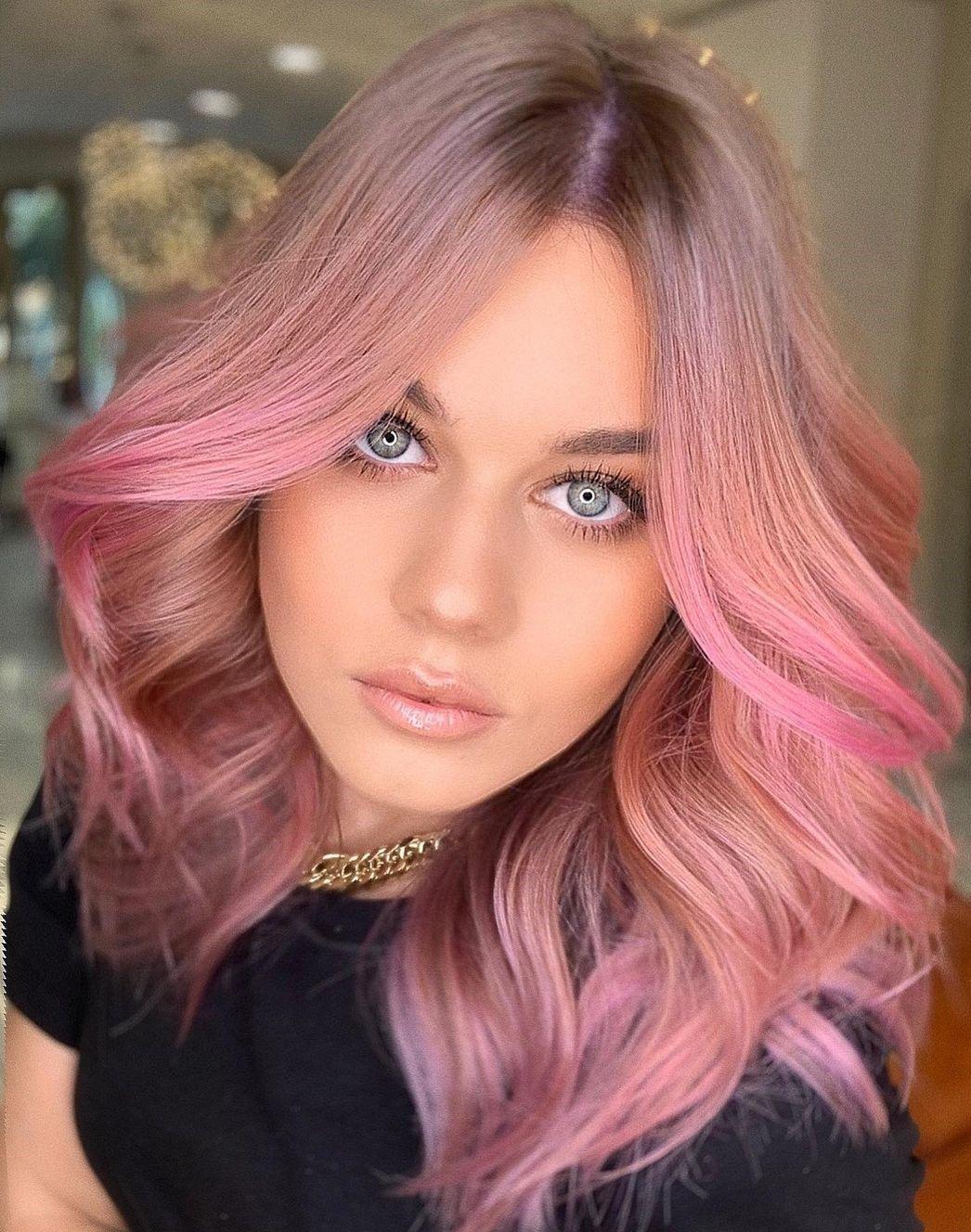 12 Eye Catching Ideas of Rose Gold Hair for 12   Hair Adviser in ...