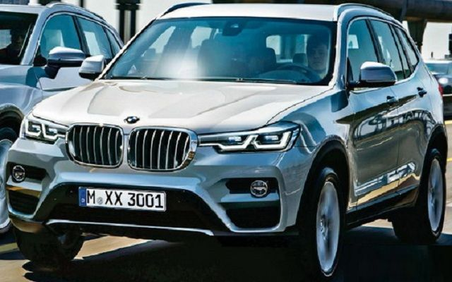 new car plate release2017 BMW X3 front  Cars  Pinterest  Release date X and BMW