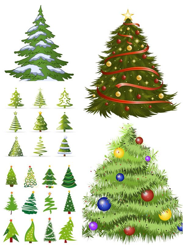 Christmas tree vector Free Vector Graphic Resources Pinterest - free christmas tree templates