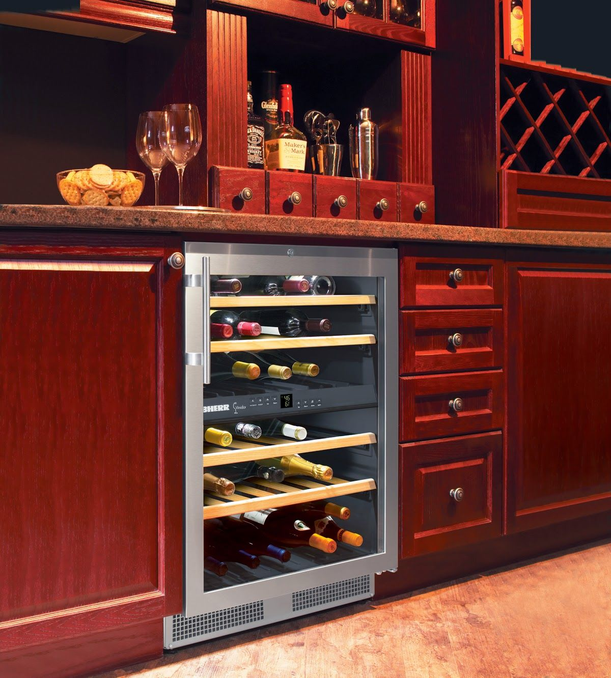 Top 10 Built In Under Counter Wine Cellar S Dual Zone Wine Storage Cabinets Wine Storage Wine Cellar