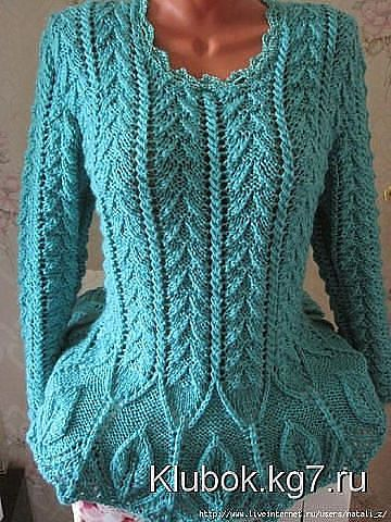 Wwwklubokkg7ru Damas Sweater Knitting Patterns Knitting