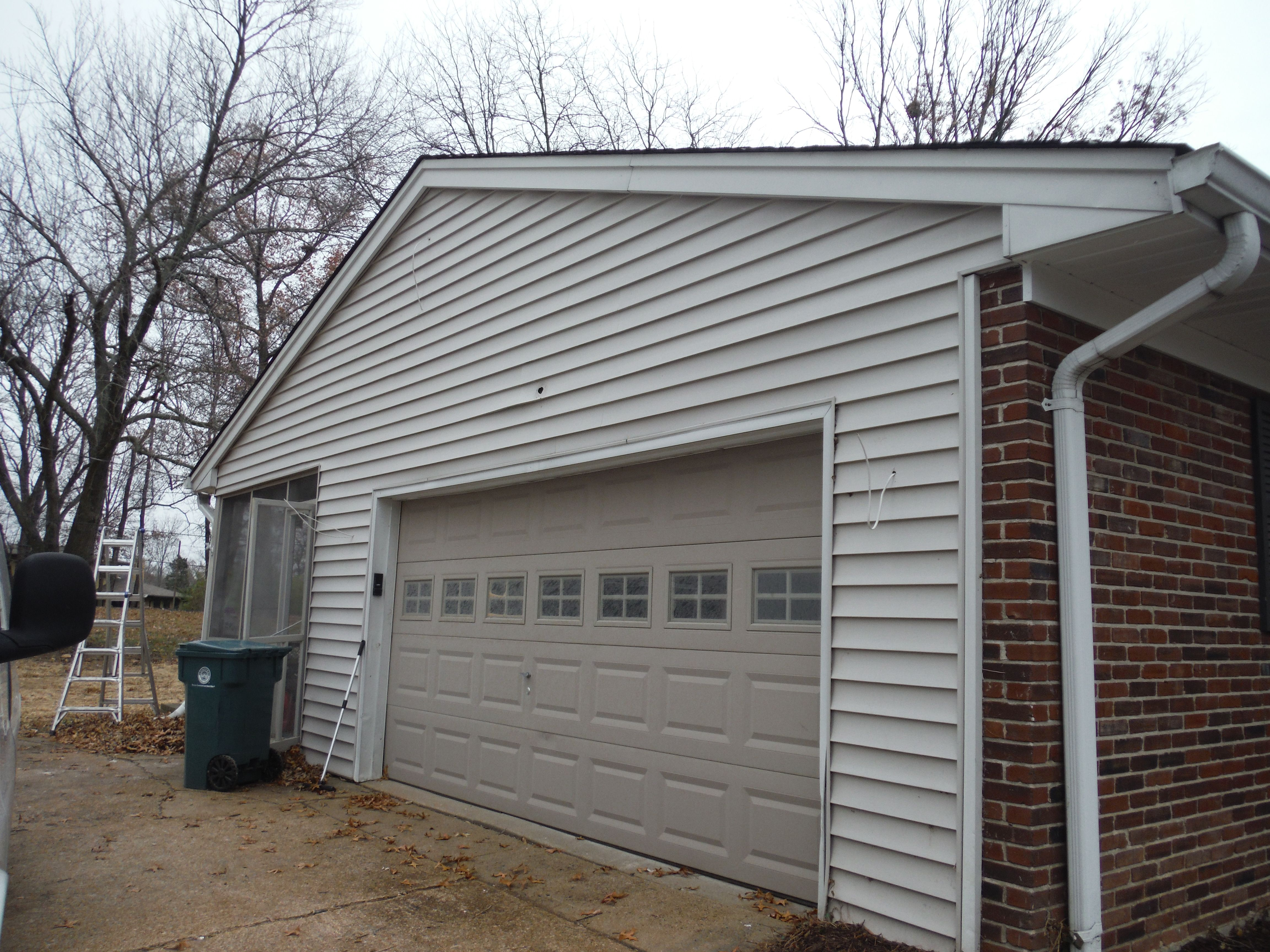 Before Picture Another Angle Of Old Masonite Siding Masonite Siding Vinyl Siding Outdoor Decor