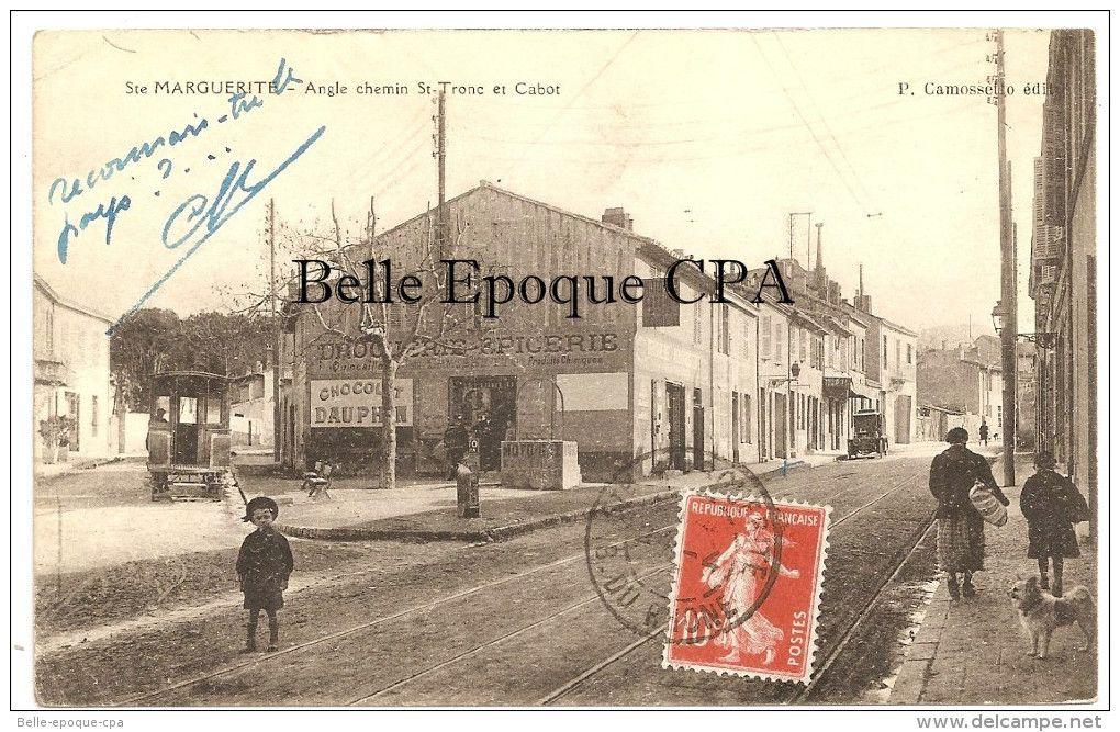 Ste Marguerite Angle Chemin St Tronc Et Cabot Marseille