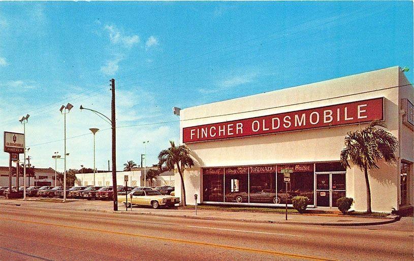 Fincher Oldsmobile Dealership Miami Florida Car Dealership Oldsmobile Dealership