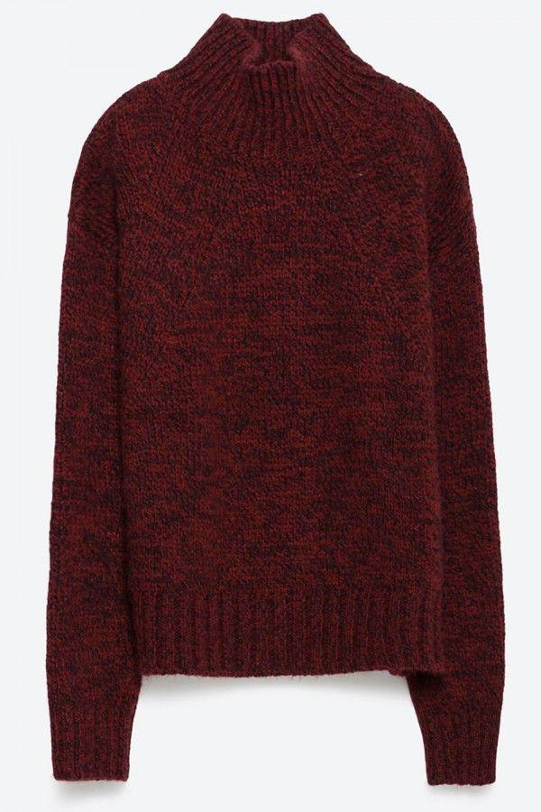 Zara Sweater With Turtle Neck, £25.99