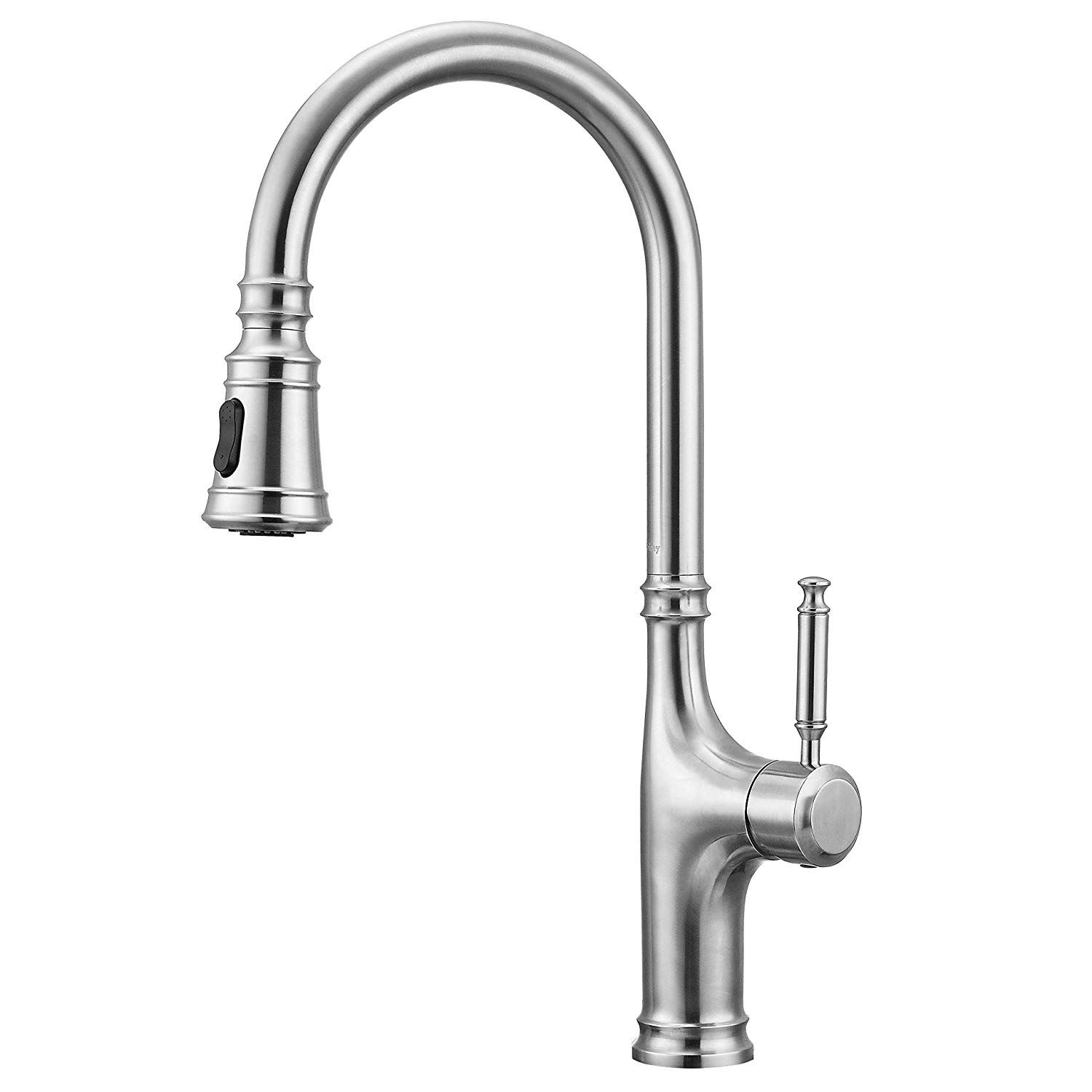 Primy Kitchen Faucets With Pull Down Sprayer Modern Heavy Duty