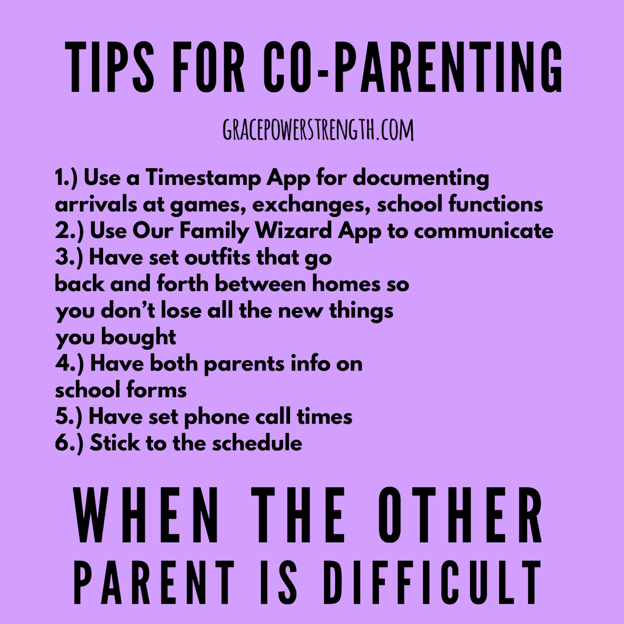 Co Parenting Can Be A Difficult Experience If The Ex Is