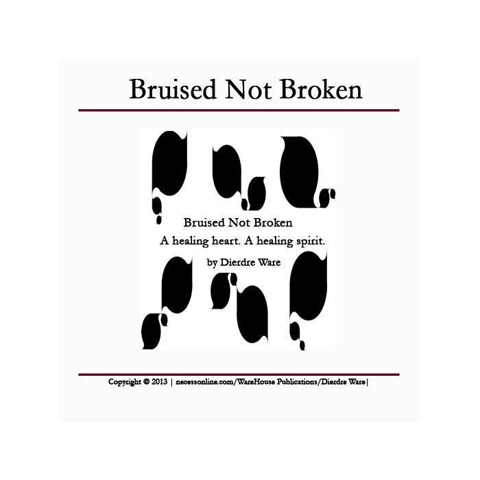 Bruised Not Broken is a short story of the pressure behind