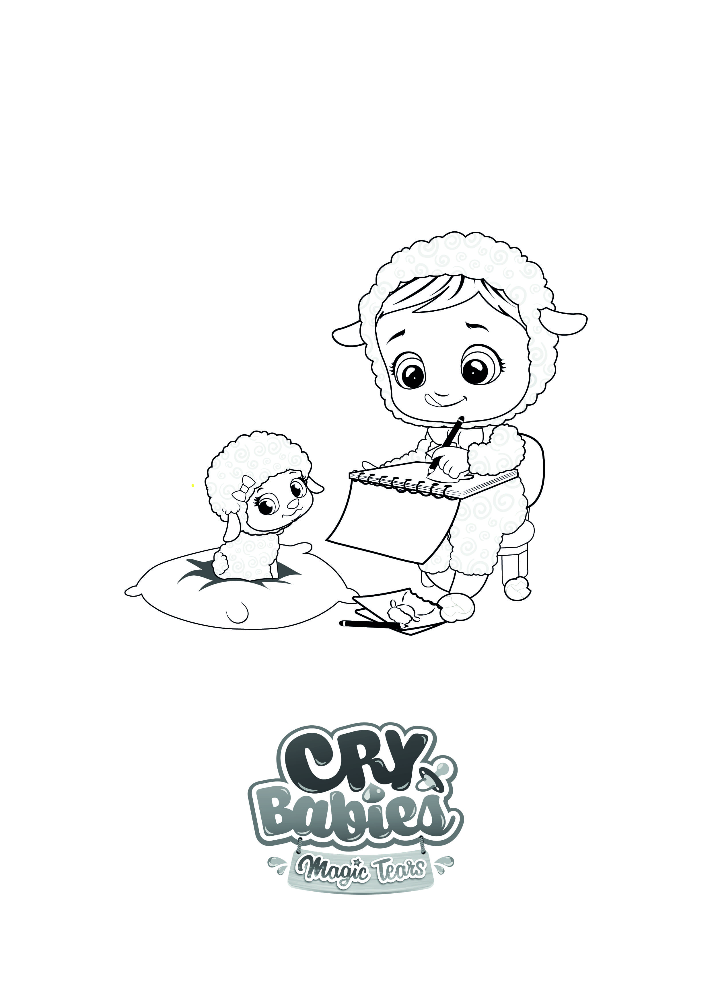 Coloriage Cry Babies