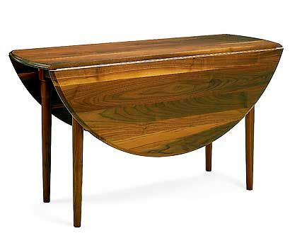 This 60 Solid Walnut Stunner Would Tuck Neatly Into A Corner Or Up Against The Small Dining TablesDining Room