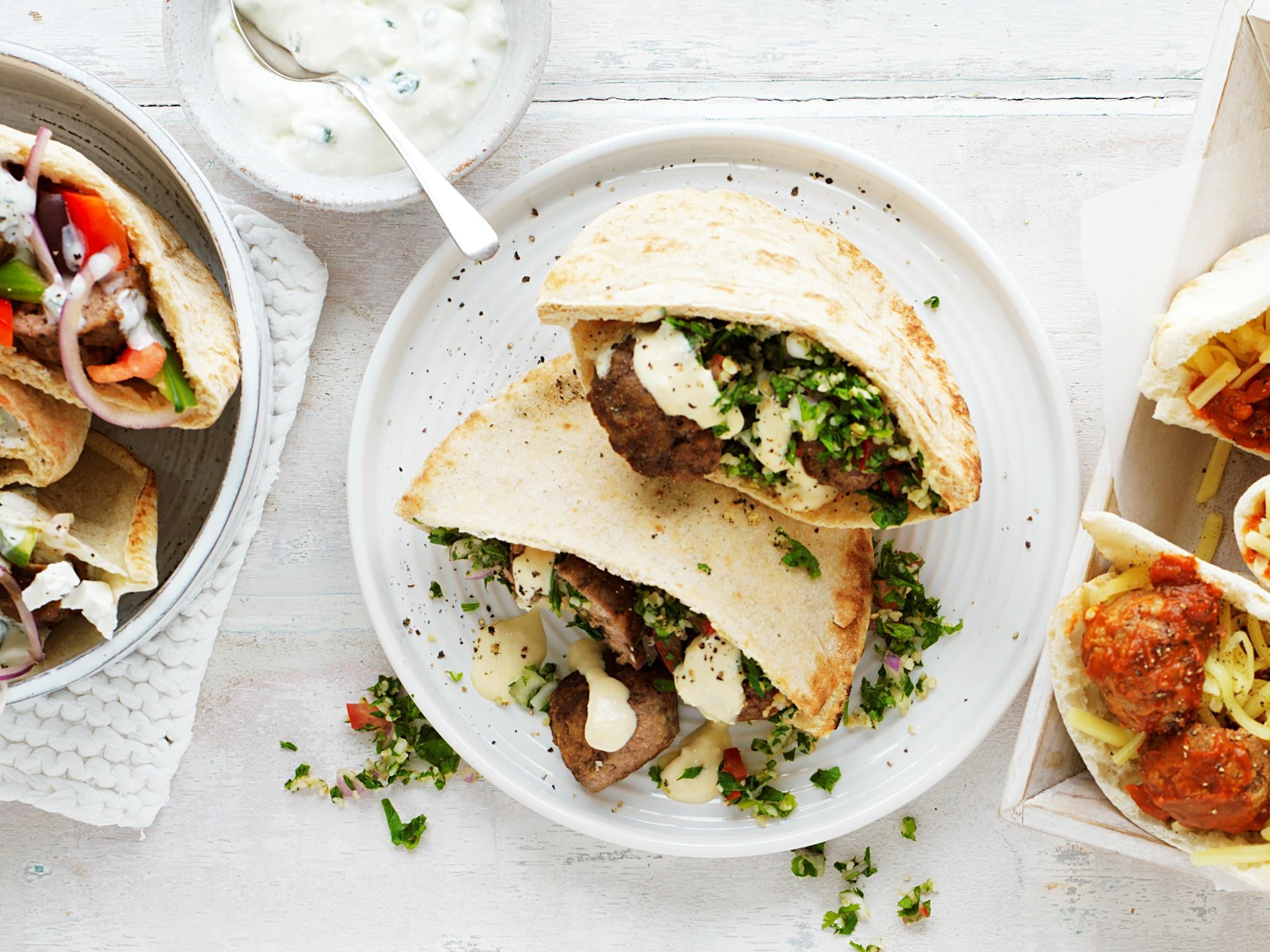 Lebanese meatball pocket | Recipe | Full,double,, Make... and Of