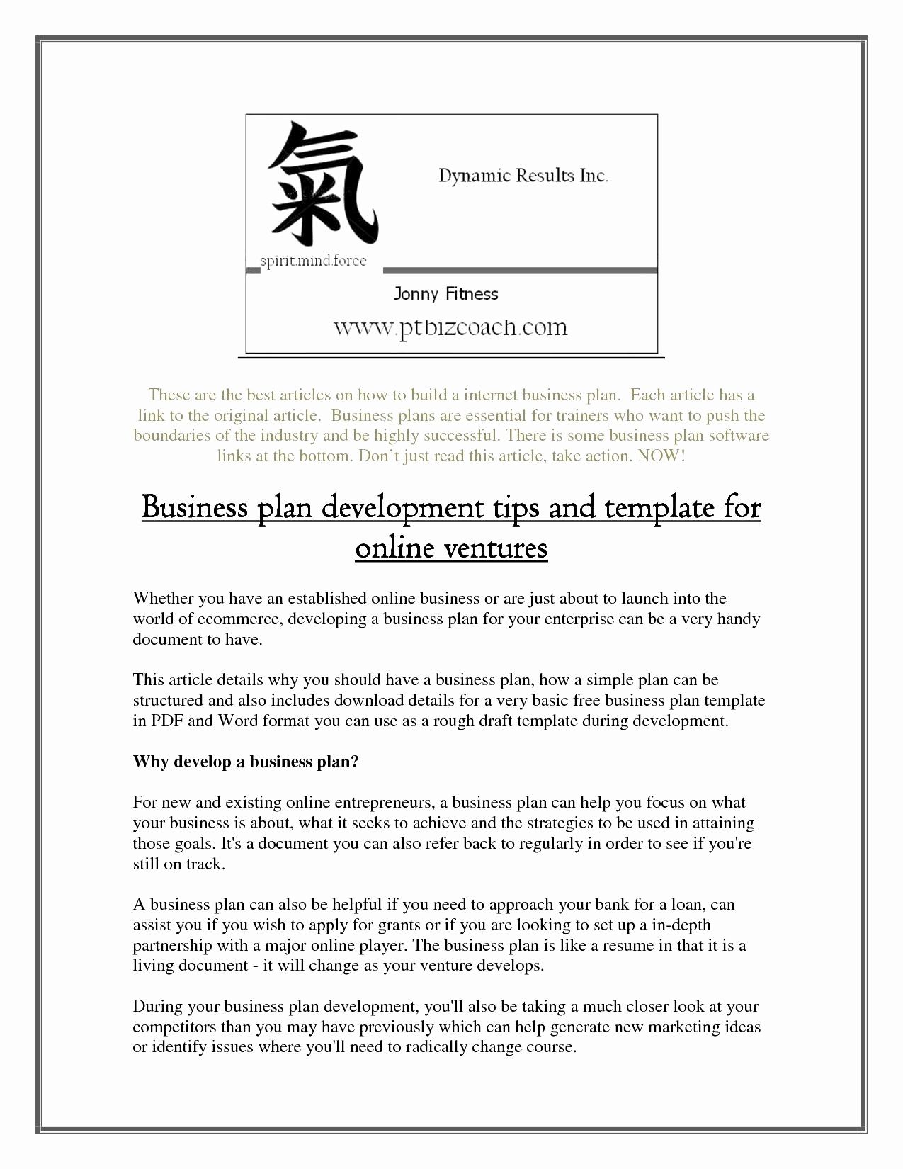 Online Retail Hing Store Business Plan Fashion Concept Pdf