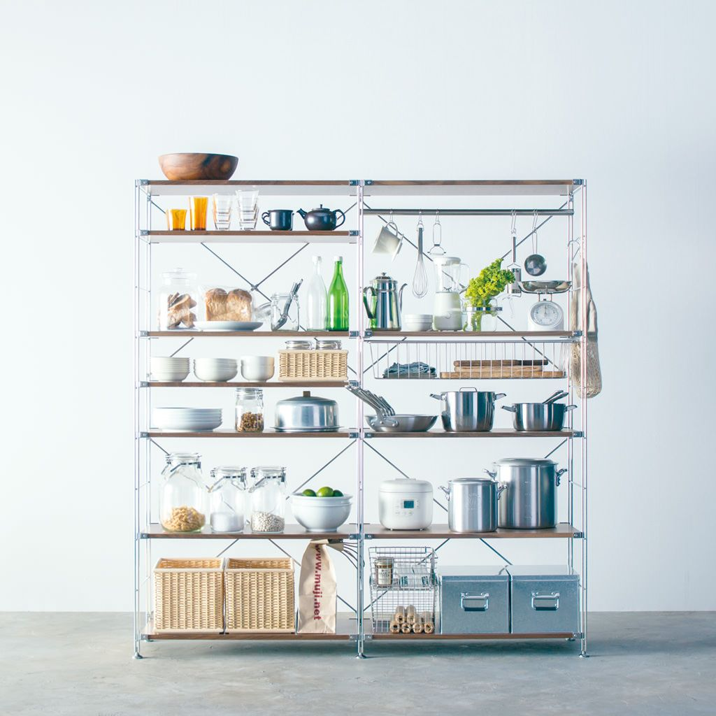 Compact Life Storage In The Shape Of Life インテリア 収納 無印キッチン収納 キッチンユニット
