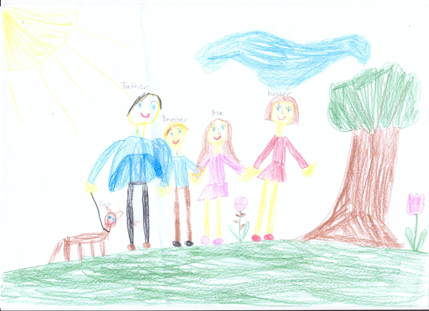 six year old drawing - Google Search | Aurora sleeping ...