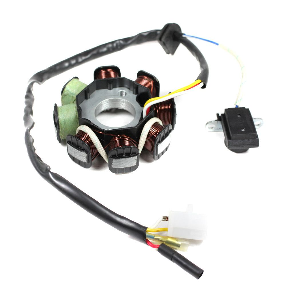 Chinese ATV Stator Magneto GY6 50cc - 8 coil - Vers  12