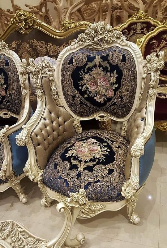 Lutfifurniture Com Instagram Lutfifurniturejepara: Baroque Floral Chair