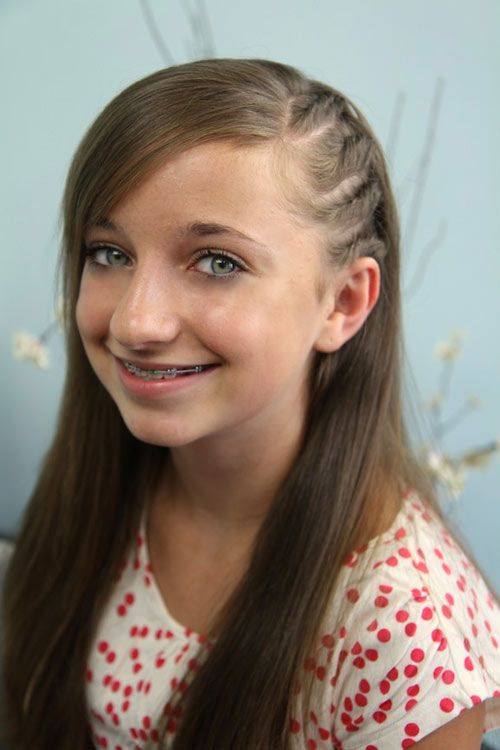 Our Top 60 Hairstyle Picks For School Girls | Bang hairstyles, Top ...