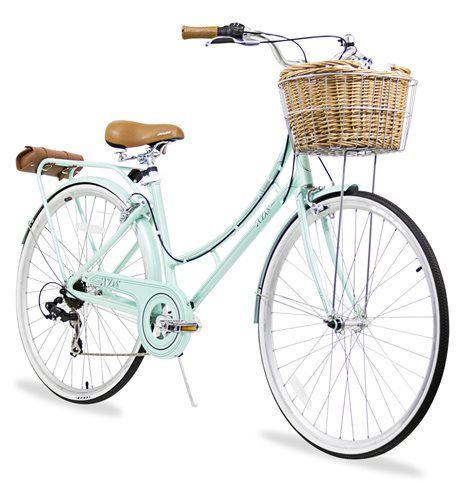 Nadine Ladies City Bicycle 11 Main Cruiser Bike Basket City
