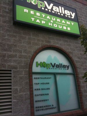 Hop Valley Brewing Company Springfield Or Brewing Company