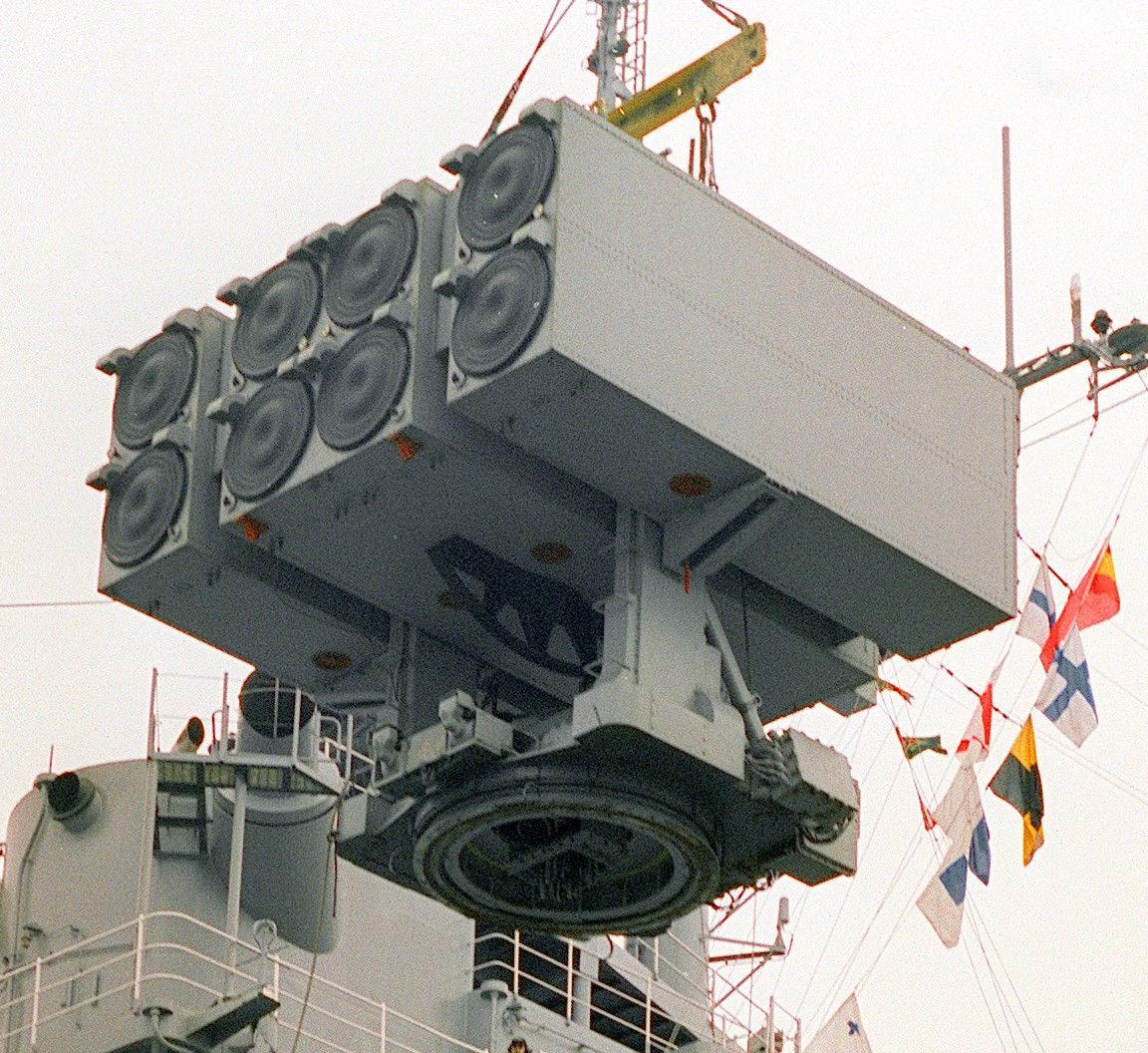 Mk-25 Missile Launcher Was Removed From The Amphibious