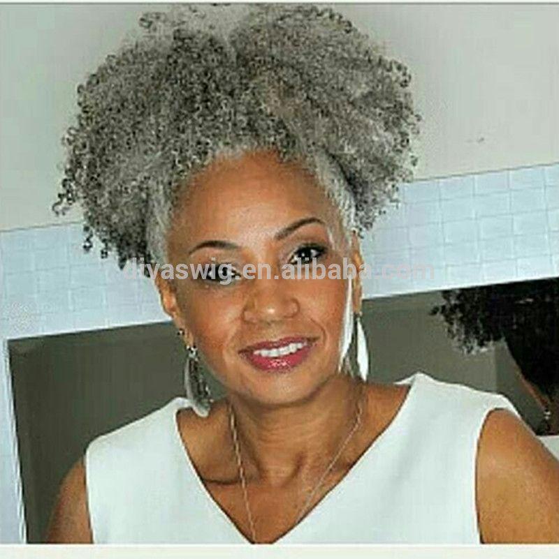 Brazilian ponytail extension short afro kinky grey ponytail black brazilian ponytail extension short afro kinky grey ponytail black women clip ponytails pmusecretfo Image collections