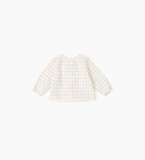 Afbeelding 2 van Geruit overhemd van Zara