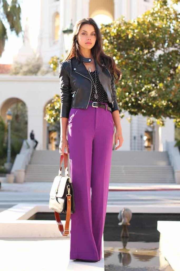 56 Outfits Con Pantalones Palazzo Para Lucir Con Estilo 2019 Business Attire Moda Moda Para Mujer Y Pantalones Palazzo