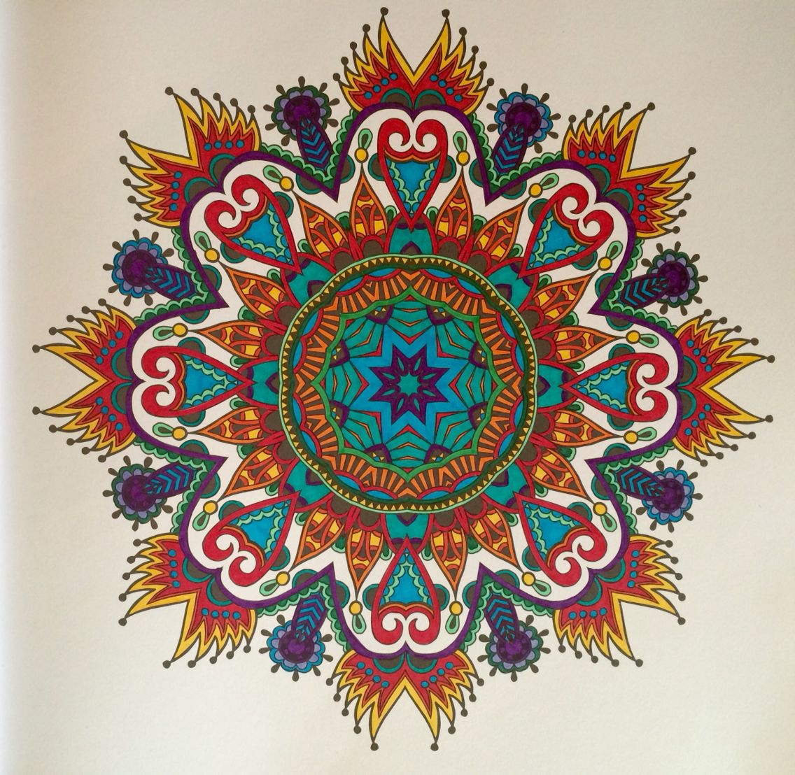 The One And Only Mandalas Sharpies Mandala Coloring Pages Mandala Meditation Mandala Coloring
