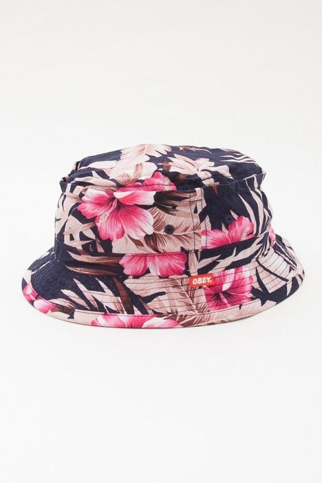 3189ad6c843 The Giant Peach - OBEY - Uplands Floral Bucket Hat