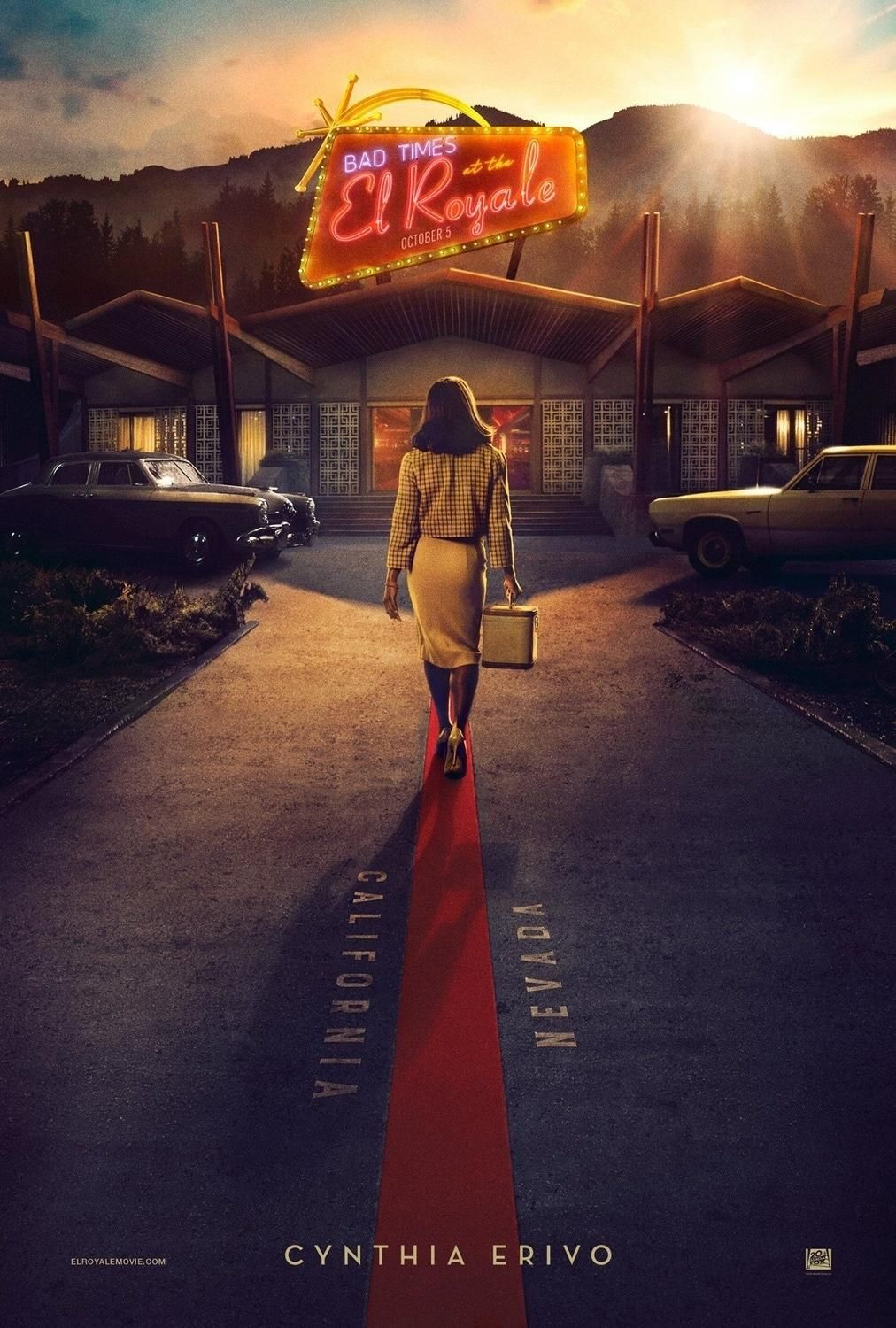 Bad Times at the El Royale Print Advert By Eclipse
