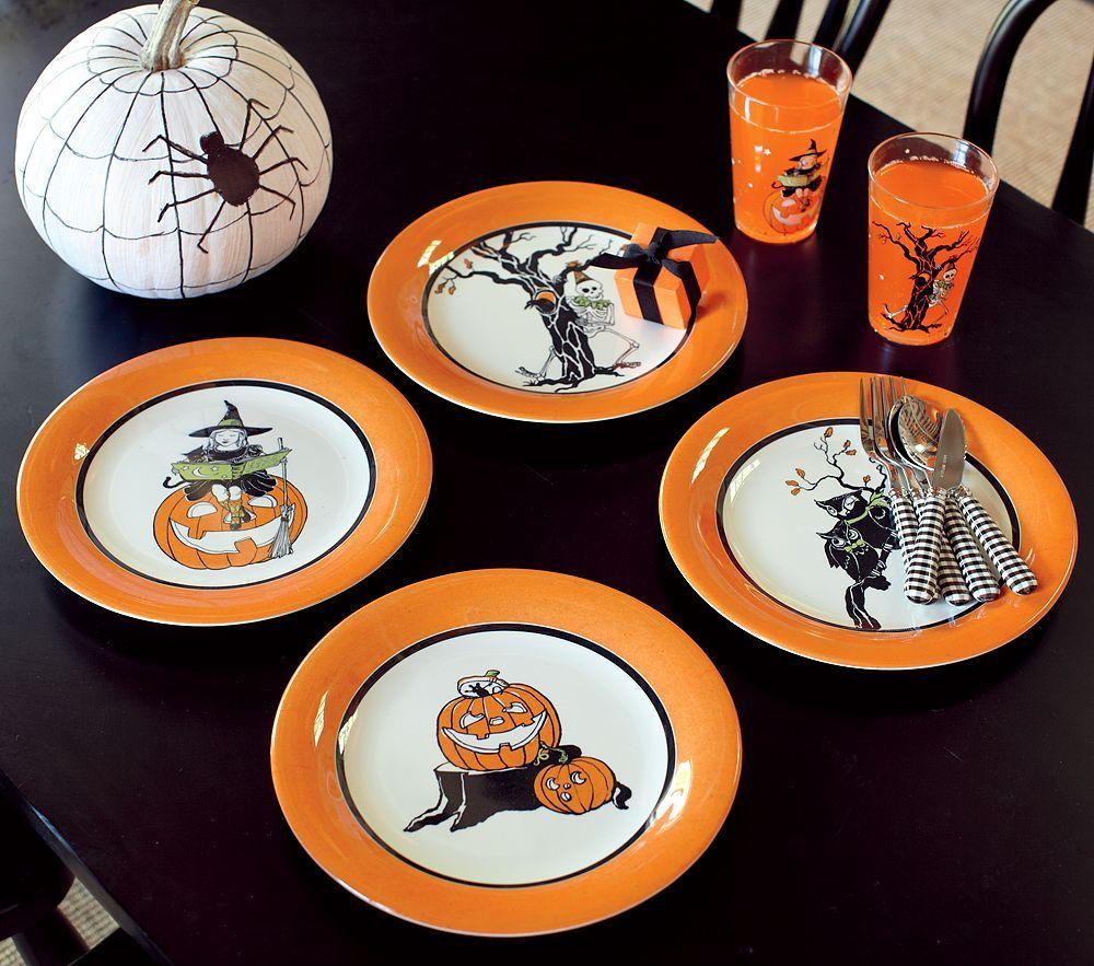 Halloween Tabletop Pottery barn kids, Halloween tabletop