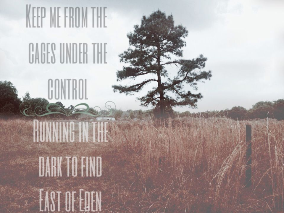 East of Eden Zella Day East of eden, Lyric art, Eden
