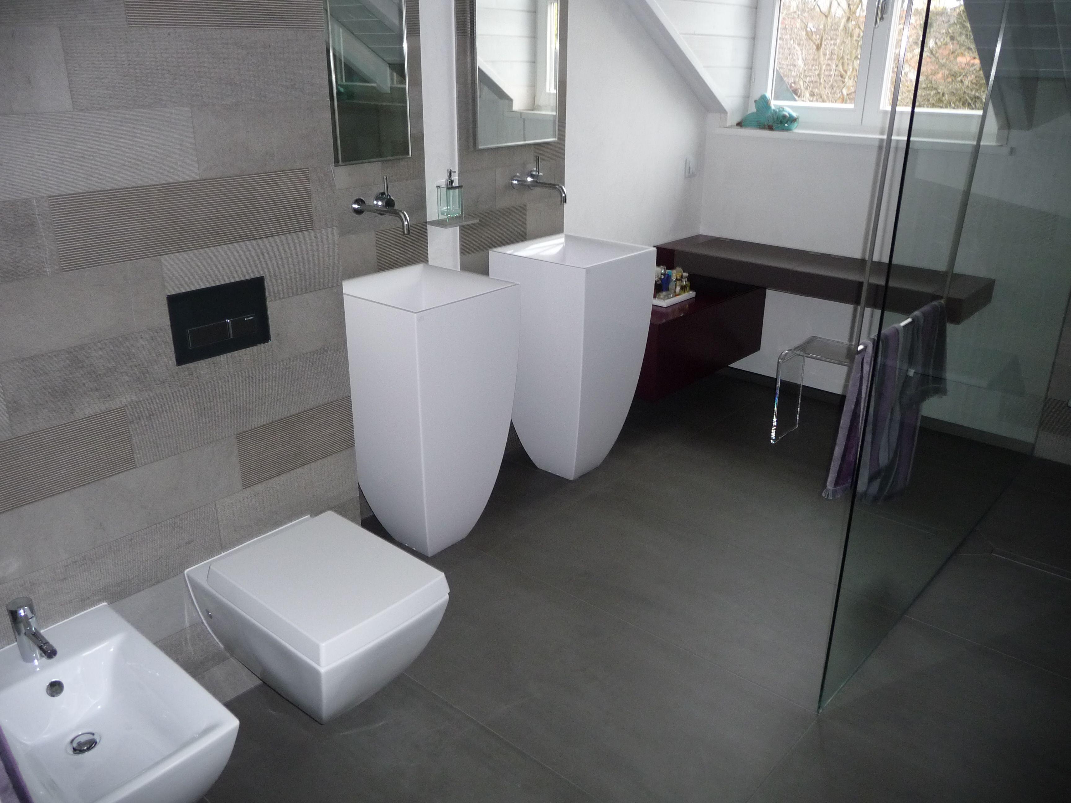 Waschbecken, Zwei, Badezimmer, Deutschland, Home Collections, Germany