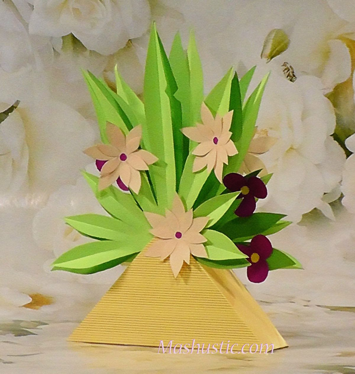 Easy paper flower bouquets for kids mashustic sablonok easy paper flower bouquets for kids mashustic izmirmasajfo