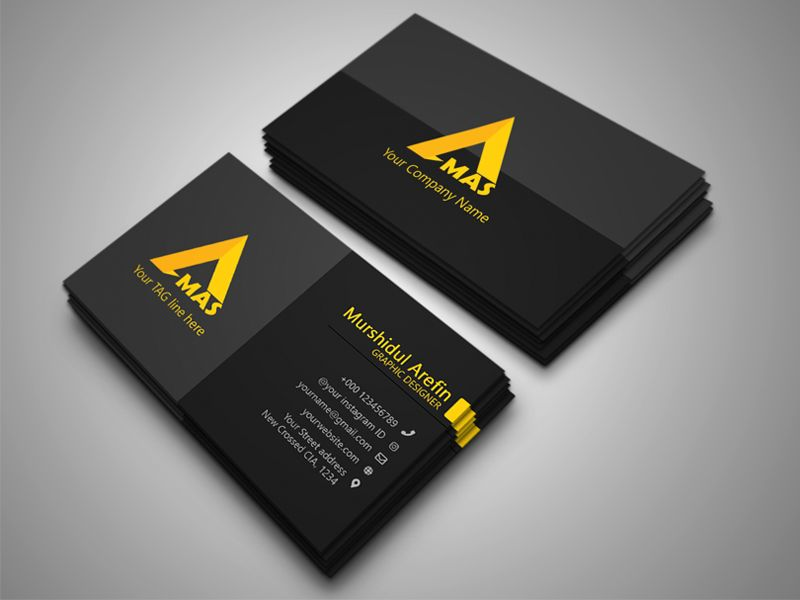 Business Card Design Business Card Design Brand Identity